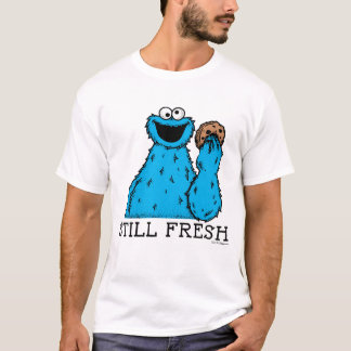 Camiseta Fresco inmóvil del monstruo el   de la galleta