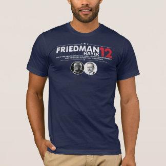 Camiseta Friedman Hayek 2012