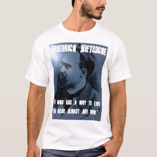 Camiseta Friedrich Nietzsche POR QUÉ VIVIR
