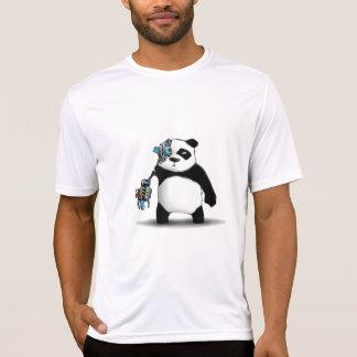 Camiseta Friki del Cyborg de la panda