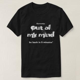 Camiseta Fuera de mi mente