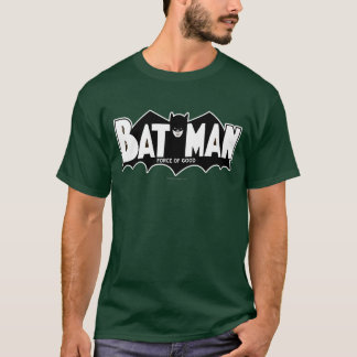 Camiseta Fuerza de Batman el | del buen logotipo 60s