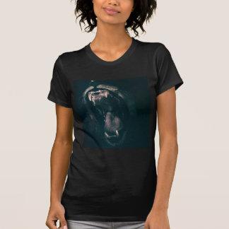 Camiseta Fuerza enojada del rugido del miedo del rugido de