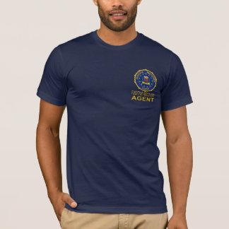 Camiseta FUGITIVA del AGENTE de la RECUPERACIÓN de