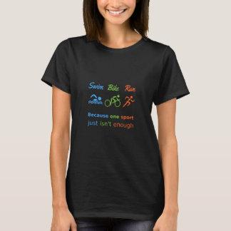 Camiseta Funcionamiento de la bici de la nadada de la cita