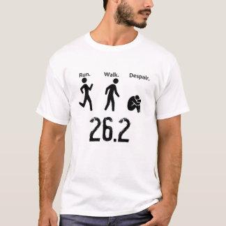 Camiseta Funcionamiento. Paseo. Desesperación. Maratón