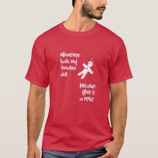 Camiseta Funny humor. Voodoo Doll víspera de todos los