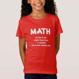 Camiseta Funny Math science school nerd