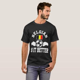 Camiseta fútbol belga mejora