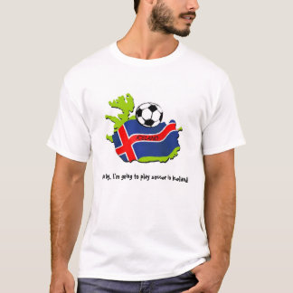 Camiseta Fútbol en Islandia