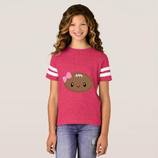 Camiseta Fútbol femenino lindo Emoji