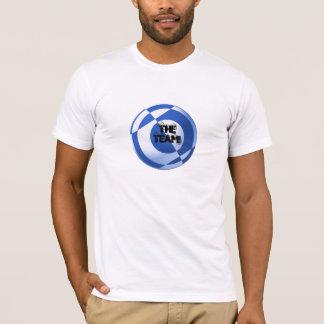 Camiseta Fútbol todo azul