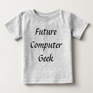 Camiseta futura de la ciencia de los niños del