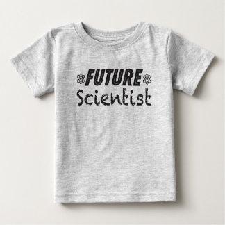 Camiseta futura del bebé del científico