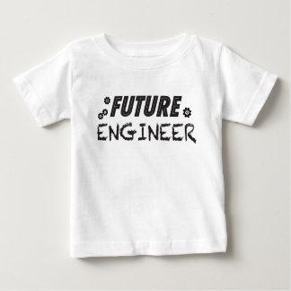 Camiseta futura del bebé del ingeniero