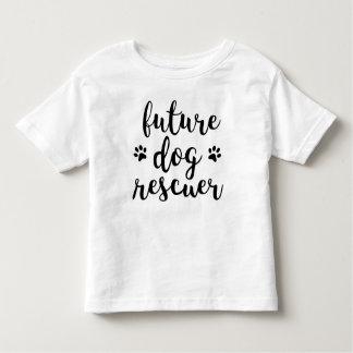 Camiseta futura del niño del salvador del perro