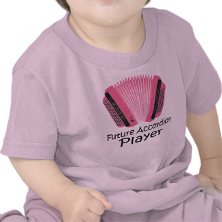 Camiseta futura linda del bebé del jugador del