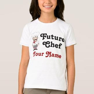 Camiseta futura personalizada de los niños del