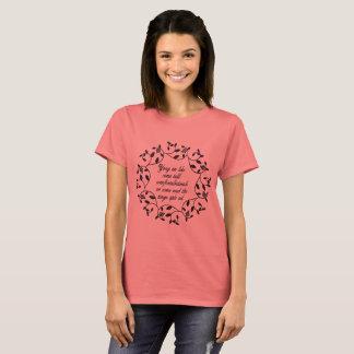 Camiseta Galimatías del bolso del mercado de la noche