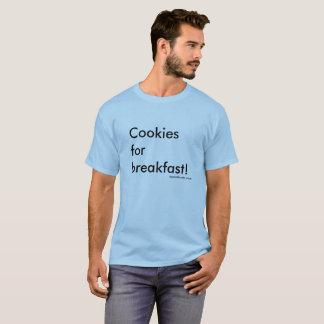 Camiseta ¡Galletas para el desayuno!