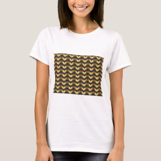 Camiseta galón gatsby del oro
