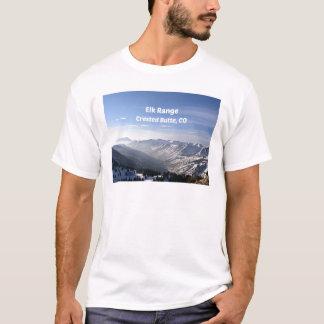 Camiseta Gama de los alces, mota con cresta, CO