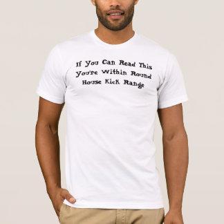 Camiseta Gama redonda del retroceso de la casa