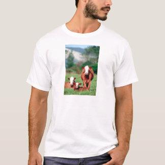 Camiseta Ganado del hereford de Brown