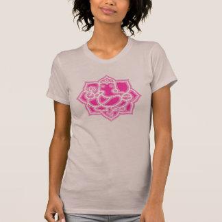 Camiseta Ganesh y loto - señoras