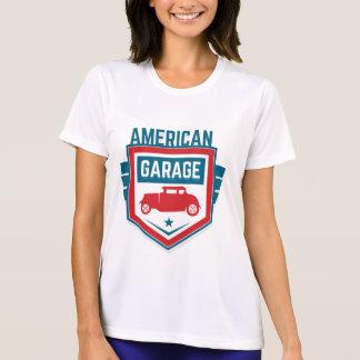 Camiseta Garaje de América. Vintage americana