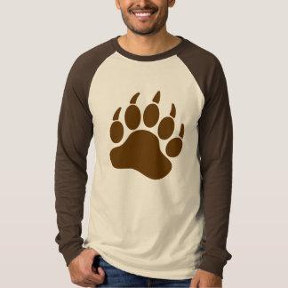 Camiseta Garra de oso del orgullo del oso de Brown (r)