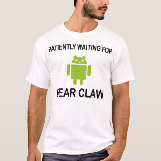 Camiseta Garra de oso Droid