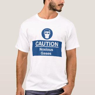 Camiseta Gases nocivos