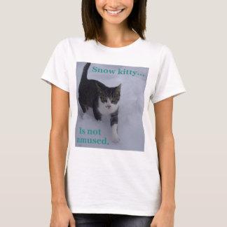 Camiseta Gatito de la nieve