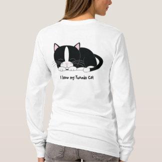 Camiseta Gatito soñoliento {smoking}