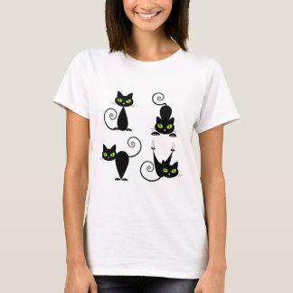 Camiseta Gatitos dañosos