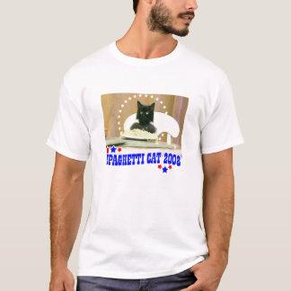 Camiseta ¡Gato 2008 de los espaguetis!
