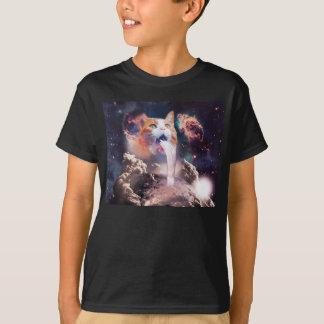 Camiseta gato de la cascada - fuente del gato - espacie el