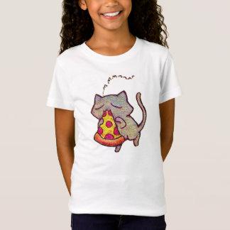 Camiseta ¡Gato de la pizza!