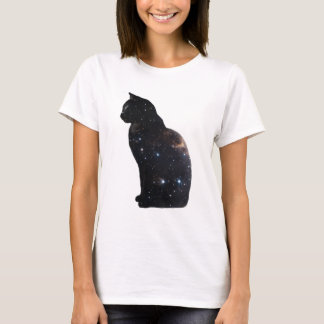 Camiseta Gato del espacio
