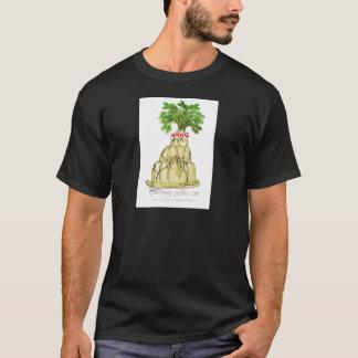 Camiseta gato del jello de la pastinaca de los fernandes