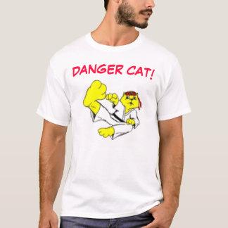 Camiseta Gato del karate del peligro
