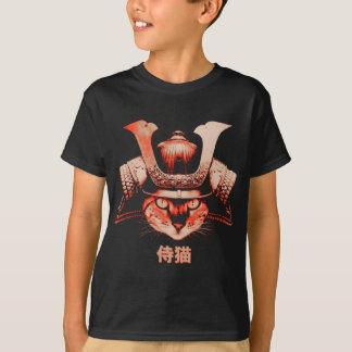 Camiseta Gato del samurai