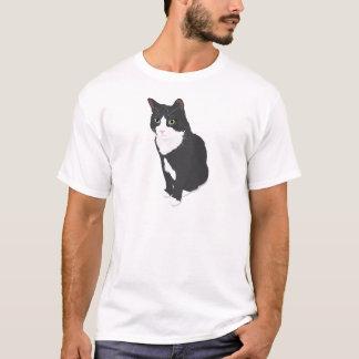 Camiseta Gato del smoking