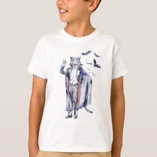 Camiseta Gato del vampiro de Catula de la cuenta