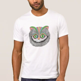 Camiseta Gato psicodélico de Cheshire