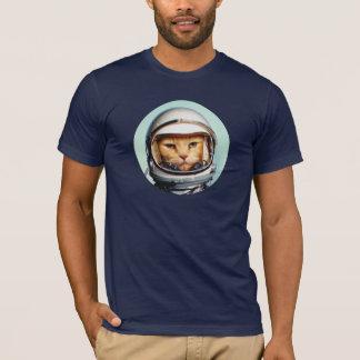Camiseta Gato retro del espacio