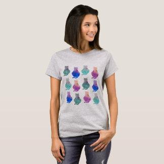 Camiseta Gatos de la constelación del zodiaco
