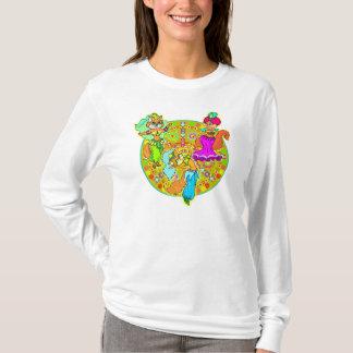 Camiseta Gatos de la danza del vientre