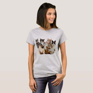 Camiseta gatos, gatos y gatos